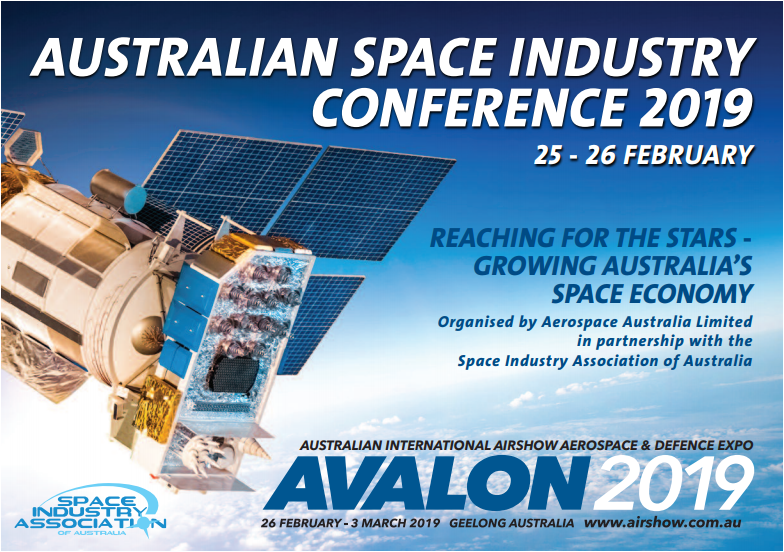 Australian Space Industry Conference 2019 banner image