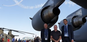 Managing Director, Greg Reid; Mick Gentleman MLA and Executive Director, Jeremy Hallett